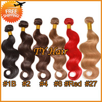 Brazilian Hair Body Wave Under $30 5A Unprocessed Virgin Brazilian Hair Body Wave 3 4 Bundles Lot Remy Hair Extension Cheap Human Hair Weave Dark Mediu Light Brown Blonde Hair