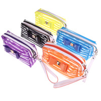 Wholesale NEW Fashion Lady Translucent Cosmetic Bag Case Pouch Storage Make up Organizer Handbag Women s Makeup Container H10644