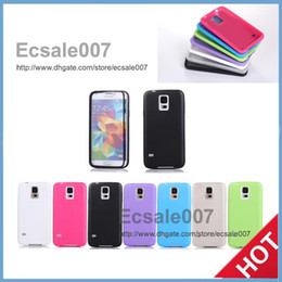 Wholesale Best S5 Smartphone Case Candy Color TPU Touch Case for Samsung Galaxy S5 with Clear Flip Cover Fit for Blackberry iPhone Nokia Sony Huawei