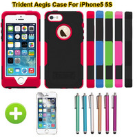 High Quality Trident Case For Apple iPhone 5S 5 Hybrid Rugge...