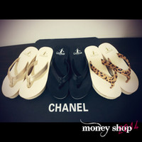 Wholesale MONEY SHOP women s new summer home wild rabbit leg herringbone muffin slope with sandals