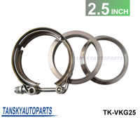 Wholesale 2013 TANSKY quot V band clamp fit all style exhaust system TK VKG25
