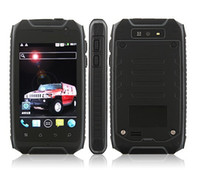 Android No Brand with Water Proof 3.5 inch Quad Band HUMMER H1 GPS MTK6572 dual core android 2.3 ip67 Waterproof Mobile Phone Dustproof Android CellPhone