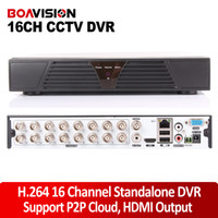 Wholesale 16CH H HDMI output CCTV SECURITY Standalone Network DVR Recorder channel CCTV DVR Recorder for Android iPhone view