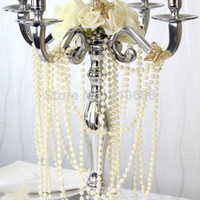 stands - NEW ARRIVAL IN STOCK Meters mm Pearl Beaded Garland Strands for Wedding Decoration Table Centerpieces Chandelier