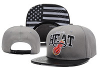 Wholesale Grey Heat Snapback Grey Basketball Caps Eastern Conference Champions Flat Caps Popular Basketball Hats Flat Pattern Brim Sports Hats