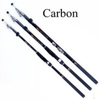 Wholesale 7 m Model Telescopic Fishing Rods Carbon Spinning Fishing Tackle Quality Fishing Equipment