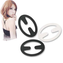 Wholesale Practical Invisible Oval Shape Bra Buckle Perfect Adjust Bra Clasp Clip Cleavage Control Strap K07764