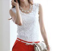 Crew Neck Sleeveless Regular 2014 Women New Fashion Boutique Bottoming Sling Tops Cotton Lycra White Black Chiffon Lady Blouse S-XXL Ewsd4645