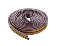 building products - Building Products All Climate EPDM Weatherstrip D Strip Feet Brown