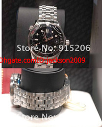 Wholesale Lowest Price Luxury NEW World Men s JAMES BOND ANNIVERSARY LIMITED Stainless Steel Sport Styles Automatic watches mens large mens
