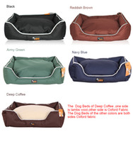 Wholesale Ondoing H51098 Brand New Bite Resistant Fashion Upscale dog Kennels Pet Beds dog beds Summer Size S M