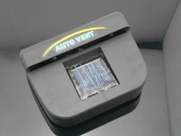 Wholesale 50X New Solar Sun Power Auto Car Cool Air Vent Conditioning Cool Cooler Fan Auto Fan