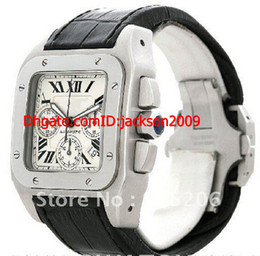 Wholesale Lowest Price BRAND luxury Men s X Large Automatic Watch W20090X8 Band Material Leather Mens Watches Top Brand