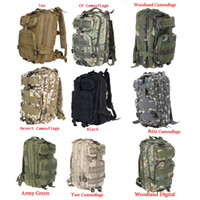 Wholesale L Outdoor Sport Military Tactical Backpack Molle Rucksacks Camping Hiking Trekking Bag H9388