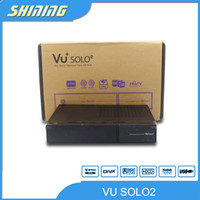 Cheap 2014 vu+ solo2 vu solo2 1300MHz Enigma 2 Linux OS System Support Blackhole 2.0.9.1 DVB-S2 Twin Tuners vu solo HD TV Receiver