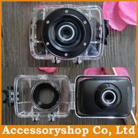 Wholesale Emeson F5B HD Actioncam Digital Video Sportcam Sport Cam Waterproof P Megapixel X Digital Zoom DH DV Camera DVR Free DHL