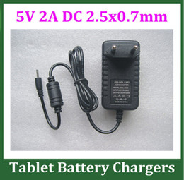 10pcs 5V 2A Power Adapter DC 2.5mm Charger for Android Tablet PC Q88 Ramos W17 Pro Chuwi V88 Kids Tablet Nabi 2 II NABI2 Power Supply EU US