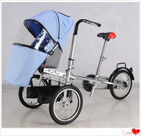 baby bike - Best Quality Factory Price Daddy Moms Bike Kids Trolley Mother Bike Baby Stroller Fashion Father Mothers and Boys Girls Bicycle