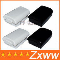 Wholesale For Xbox Controller Battery Cover Case Black White HZ