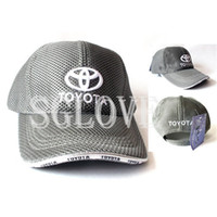 Wholesale SGLOVE Adjustable Panel Cotton Net Hat Hip Pop motorcycle F1 Car Racing Sports Leisure Baseball amp Basketball Cap Cool Car Brand T Y T