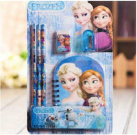 50sets 2014 Children Grils Study Accessories Child Frozen Sn...