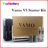 Wholesale New Vamo V5 Starter ego Kit LCD Display Variable Voltage Battery CE4 Atomizer Clearomizer Electronic Cig