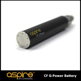 Wholesale Newest E CIG Eigate Aspire Developed technology Original Aspire popular CF G Power Battery mah ego Battery