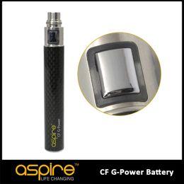 Wholesale Hot E CIG Eigate New Developed technology Original Aspire popular CF G Power Battery ego Battery DHL