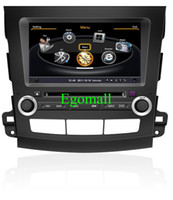 Wholesale 8 inch special car DVD player for Mitsubishi Outlander with GPS navigation Bluetooth Ipod control igo amp Navitel map