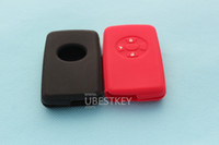 Wholesale Toyota Key Case Soft Silicone Holder Remote Fob case cover For Toyota Yaris Reiz Carola Rav4