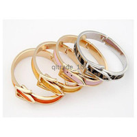 Wholesale 16 colors Korean fashion exquisite elegant and generous lady belt buckle bracelet fashion bracelet ZD184 DHL free