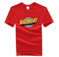 bazinga tee shirt - The Big Bang Theory Bazinga Symbol Pattern Short Sleeve T Shirt Cotton S XXL color to choose