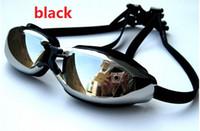 Wholesale swimming goggles professional diving goggles myopia special uv coating water mist sunglasses for men and women Myopia goggles
