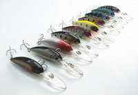 crank bait fish salt - 4 g cm Deep Swim bait Crank Bait Fishing lure Fishing tackle Hard Plastic Bait VMC Hook Floating type for salt fresh water fishing