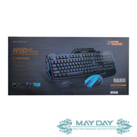 Wholesale POSEIDON W9D Optical Professional Gaming Mouse amp Keyboard Key With Press Without Conflict amp Million Clicks Life
