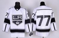 Wholesale Kings Jeff Carter Premier Home Black Jerseys with Stanley Cup Final Patch Cheap Ice Hockey Jerseys for Sale Hot Men Sports Wear