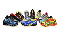 Wholesale Hot Men Salomon cross country hiking high Solomon for outdoor climbing shoes men s Sport Running Shoes