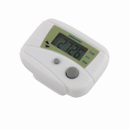 Wholesale LCD Pedometer Step Calorie Counter Walking Distance New Run Step Pedometer Walking Distance Calorie Counter