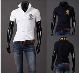 Wholesale 2014 new fashion men s casual t shirt hot sale cotton men short sleeve Tee shirt size M L XL XXL