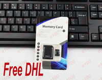 Wholesale GB Micro SD Card gb Micro SDHC TF Memory Card free adapter for Samsung huawei lenovo iPhone Galaxy S3 S4 S5 free DHL