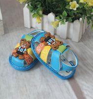 Wholesale 3 Colors Summer Cartoon Baby Sandals PVC Baby Prewalkers for Boys