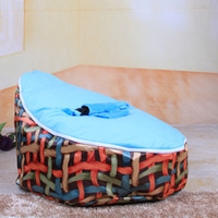 Wholesale So cute filled and unfilled baby seat or baby bean bag chair and retailed