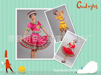 hmong - 2014 new performance clothing Hmong minority ethnic dance costumes dance fashion show