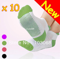 Wholesale New Yoga Socks Sock Gym Exercise Non Slip Massage Multicolor Pairs