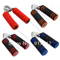 Wholesale New Arrival Foam Alloy Hand Grip Fitness Exercise Wrist Arm Train Strength Builder