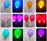 Wholesale LED Ballon Wedding flashing balloon light up balloon Party Christmas inflatable ballons safe and environment friendly