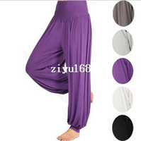 Wholesale Modal pants bloomers winter yoga clothing tai chi square dance yoga pants