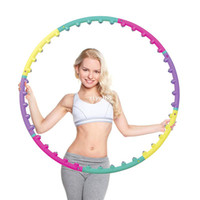 Wholesale NEW magnet fitness hula hoop massage hoops hula hoop for children kid bodybuilding for women hoops
