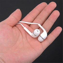 Wholesale 3 mm Earphones Headset Volume Control Mic for Samsung Galaxy S2 S3 S4 S5 Note